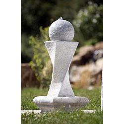 """Fontaine de jardin """"Etna"""", avec LED, Polyrésine"""