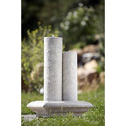 """Fontaine de jardin """"Stylon"""", avec LED, Polyrésine"""
