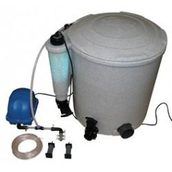 Filtres pour bassin de jardin bassin koi baignade for Pompe bassin filtre
