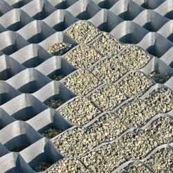 Stabilisateur graviers pour chemins parkings et voies de for Dupont ground grid stabilisateur de graviers