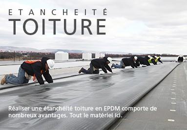 Etanchéité toiture EPDM